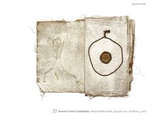 mixed media books by Beata wehr