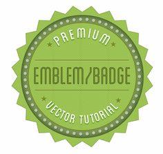Create a Retro Badge/Emblem Logo in Illustrator [Tutorial + Free Vector] - Bloom Web Design