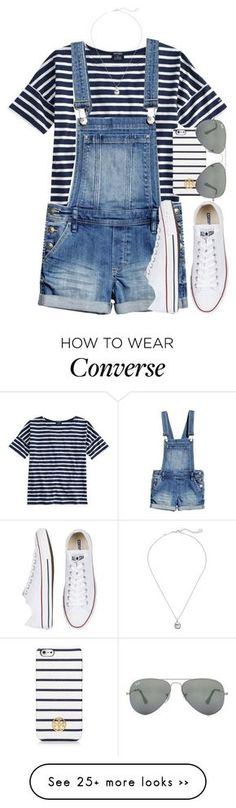 featuring Saint James, Converse, Kendra Scott, Tory Burch and Ray-Ban Look Fashion, Teen Fashion, Fashion Outfits, Womens Fashion, Fashion Trends, Dress Fashion, Fashion Ideas, Winter Fashion, Cute Summer Outfits