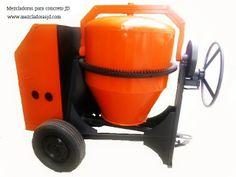 Mezcladora para Concreto  JD, Capacidad Dos Bultos