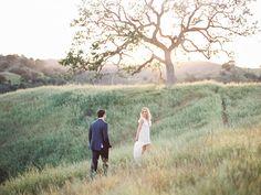 Anna Camp and Skylar Astin Engagement Photo