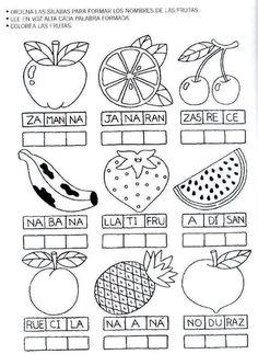 actividades de las verduras para preescolar - Buscar con Google