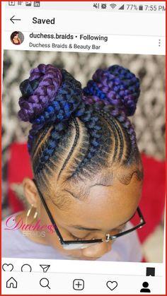 Lil Girl Hairstyles, Black Kids Hairstyles, Black Girl Braided Hairstyles, Girls Natural Hairstyles, African Braids Hairstyles, Weave Hairstyles, Quince Hairstyles, Gray Hairstyles, 1950s Hairstyles
