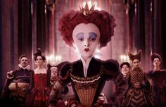 Les Mis (2012) | Helena Bonham Carter, seen her as the Red Queen in the 2010 film adaption of 'Alice In Wonderland,' has been cast as Mdme. Thenardier opposite Sacha Baron Cohen (Thenardier). To date, there are no pictures in circulation of either in their Les Mis costumes.