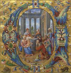 Gradual Italy, Rome, ca. 1519 MS M.912 fol. 1 http://ica.themorgan.org/manuscript/159942