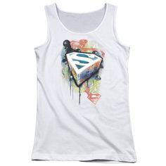 Superman: Urban Shields Junior Tank Top