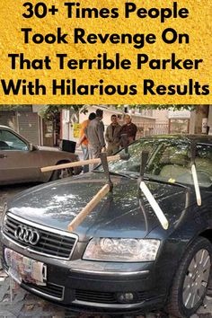 Can we all agree on one thing? Bad parkers are the absolute worst and they should all be banished from the road.