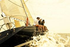 I want to take a trip to the East Coast this summer, wear boat shoes and nautical stripes, and do this.