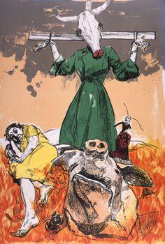 Scarecrow - Paula Rego 2006 courtesy of Marlborough Fine Art.jpg 1,114×1,654 pixels