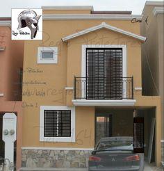 Protectores para ventanas, Fracc. Quinta San Miguel, Opción 1