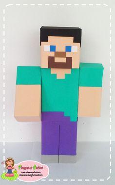 Minecraft Steve de Eva