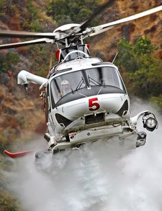 Los Angeles Fire Department Agusta AW-139 Helicopter by Mick Balter