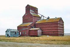 SK11j08 Grain Elevator at Feudal, Saskatchewan | by CanadaGood