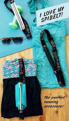 SPIbelt's sleek look and many colors make it the perfect workout accessory!