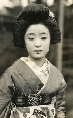 Tomeko.  Photo taken during the 1930's, Japan.