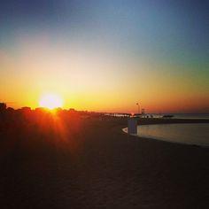 """Rimini """"Il tramonto perfetto"""" - Instagram by @Alex Whites"""