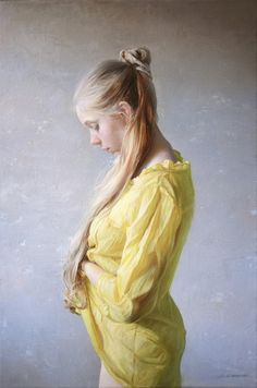 A Fine Art gallery selling original paintings, drawings, and sculptures in Los Angeles. Specializing in contemporary Western Art and contemporary realism. Figure Painting, Painting & Drawing, Woman Painting, Figure Drawing, Classical Realism, Classical Art, Oil Portrait, Portraits, Art Academy