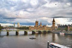 Londres desde el London Eye (o London desde el ojo de Londres)