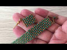 Design jewellery for yourself Seed Bead Tutorials, Beading Tutorials, Beading Patterns, Bead Crafts, Jewelry Crafts, Beaded Jewelry Designs, Bracelet Tutorial, Schmuck Design, Bead Weaving
