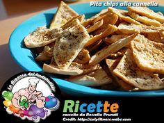 Pita chips alla cannella