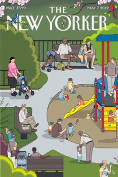Chris Ware captures America in The New Yorker.