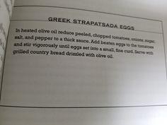 12. Greek Strapatsada Eggs
