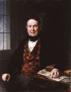 Portrait of Matías Sorzano Nájera. Vicente López y Portaña - 1840. Museo de Bellas Artes de Bilbao; oil on canvas