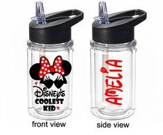 Personalised Disney Beauty /& The Beast Castle Vinyl Sticker,Florida Water Bottle
