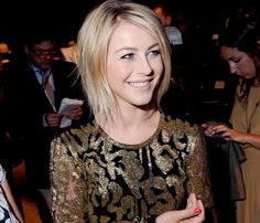 Love the gold #JulianneHough...and her hair....she is SO STUNNING.