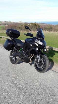 Kawasaki Versys 650 tourer Kawasaki Motorcycles, Cars And Motorcycles, Dr 650, Versys 650, Touring Bike, Super Bikes, Dirt Bikes, Street Bikes, Amazing Pictures
