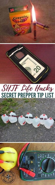 SHTF Life Hacks | Secret Prepper Tip Listing — We undoubtedly need to assume outsid.... ** Look into more by going to the photo  Check more at  http://www.shtfpreparedness.com/shtf-life-hacks-secret-prepper-tip-list/