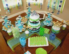 Baby Shower dessert table
