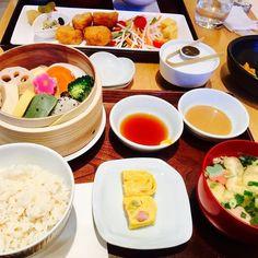 #加賀麩 #不室屋カフェ #生麩と冬野菜のせいろ蒸し #金沢百番街 #金沢ランチ