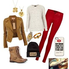 A fashion look from December 2013 featuring Topshop sweaters, J Brand jeans and Sole Society ankle booties. Browse and shop related looks.