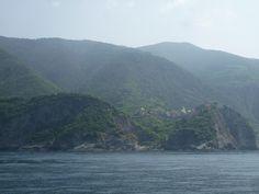 Nave, Monterosso al Mare→Portovenere, Liguria Italia (Luglio)