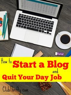 Yup! I work from home and it all began when we started a blog. How can you make money online and possibly quit your day job? Find out inside!