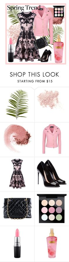 """""""Wardrobe Basics: Spring jacket"""" by pixidreams ❤ liked on Polyvore featuring Pier 1 Imports, Bare Escentuals, NARS Cosmetics, Boutique Moschino, Alexander McQueen, Chanel, MAC Cosmetics, Victoria's Secret and wardrobebasics"""