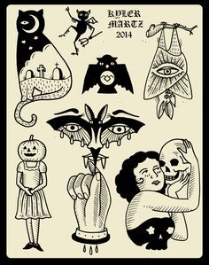 Image Result For Traditional Halloween Tattoos Cool Small Tattoos Halloween Tattoos Pumpkin Tattoo