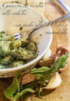 Gnocchi di ricotta alle Ortiche con Pesto di Ortica e Mandorle | la barchetta di carta di zucchero
