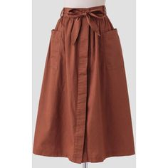 Ruche Old World Midi Skirt