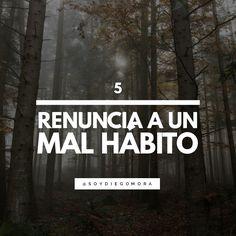 7 consejos para tu crecimiento personal: Renuncia a un mal hábito