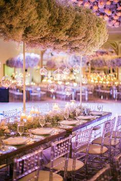 Featured photographer: Samuel Lippke Studios; Rustic wedding reception centerpiece idea