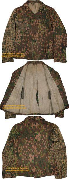 kurtka wz44 DOT44 - Barwa i broń Waffen-SS :: Mundury kamuflażowe Waffen-SS