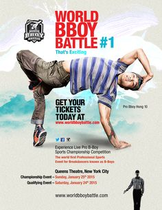 Pin by hip hop and the blueprint presented by dance education world bboy battle flyer malvernweather Gallery