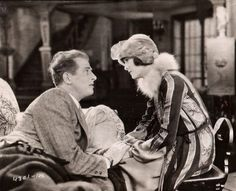 "Reginald Denny and Marian Nixon in ""Where Was I?""(1925)"