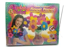 "Makit and Bakit Create 10 Sparkly Flowers ""Flower Power"" Kids Craft - QuinCraft  #Quincrafts"