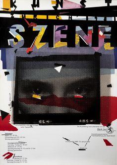 Paul Bruhwiler (designer), Kunst Szene Zurich (Art Scene Zurich), 1981.