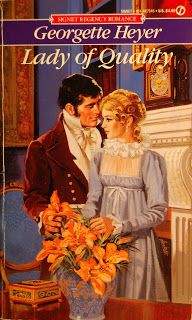 Allan Kass Book Covers: Georgette Heyer: Lady of Quality