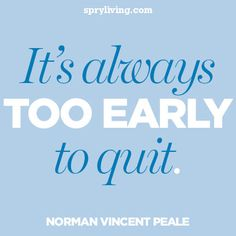 Norman Vincent Peale #quote  spryliving.com