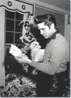 """elvis-presl3y: """" Elvis Christmas Appreciation Post #1 """""""